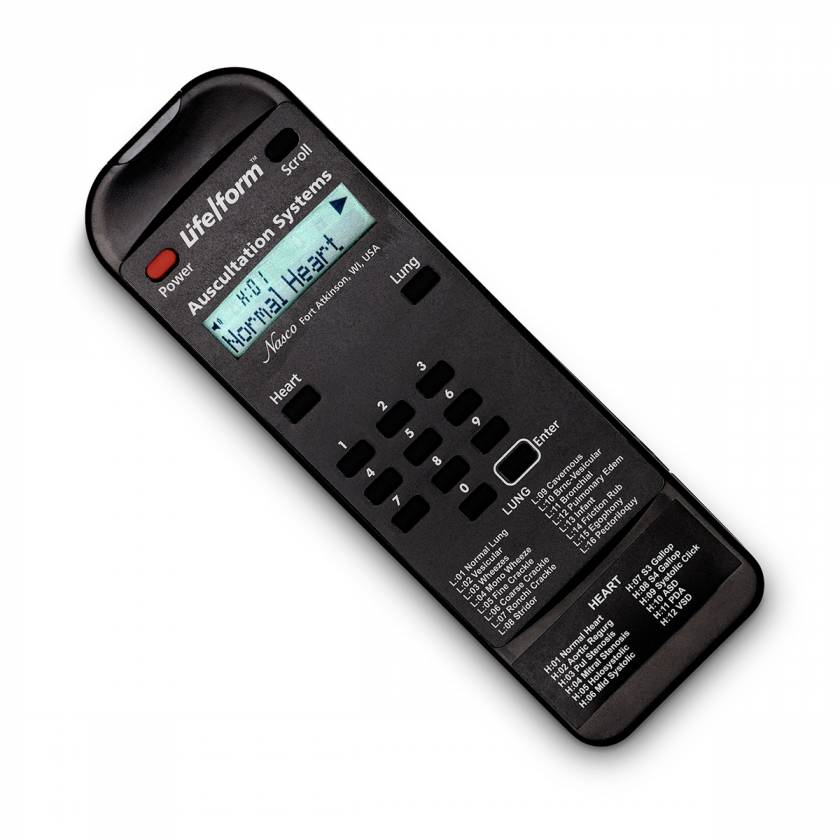 Additional Remote Control for the Life/form Auscultation Trainer