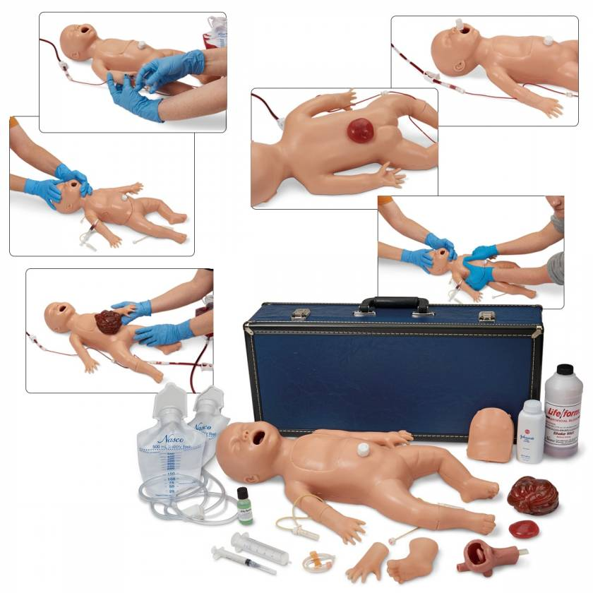 Life/form Newborn Nursing Skills and ALS Simulator