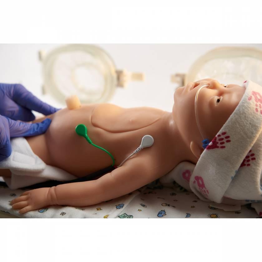 Life/form C.H.A.R.L.I.E. Neonatal Resuscitation Simulator with Interactive ECG Simulator