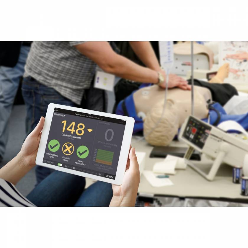 CPR Metrix Control Box and iPad