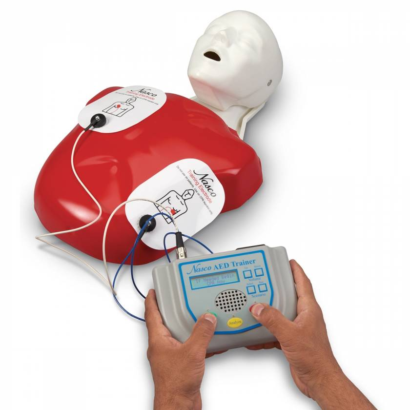 Life/form AED Trainer with Basic Buddy CPR Manikin