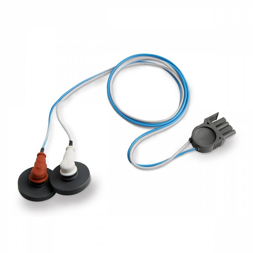 Defibrillation Pad & Patient Adapter Package - Physio Control Training Cables with Adapters for LifePak
