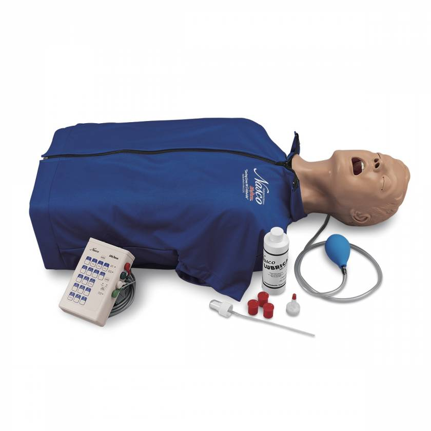 Life/form Deluxe CRiSis Manikin Torso with Advanced Airway Management