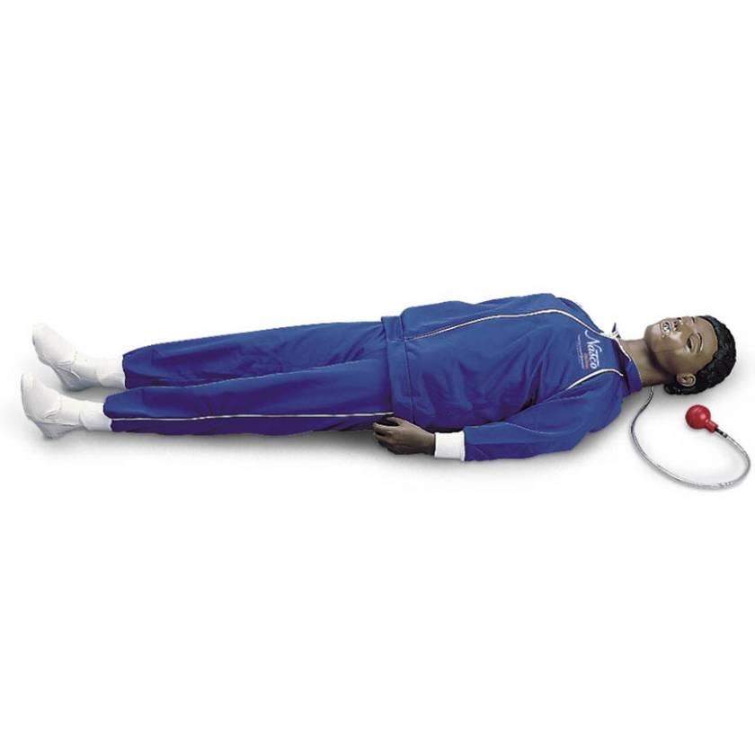Life/form CPARLENE Full-Size Manikin with CPR Metrix and iPad - Dark Skin