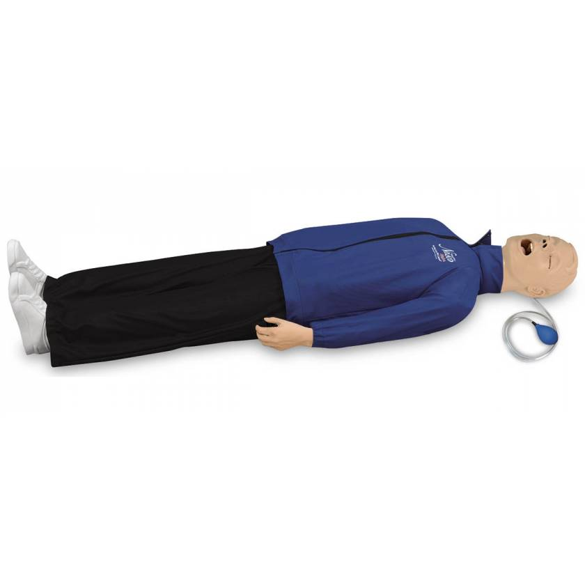 Life/form Airway Larry with CPR Metrix and iPad
