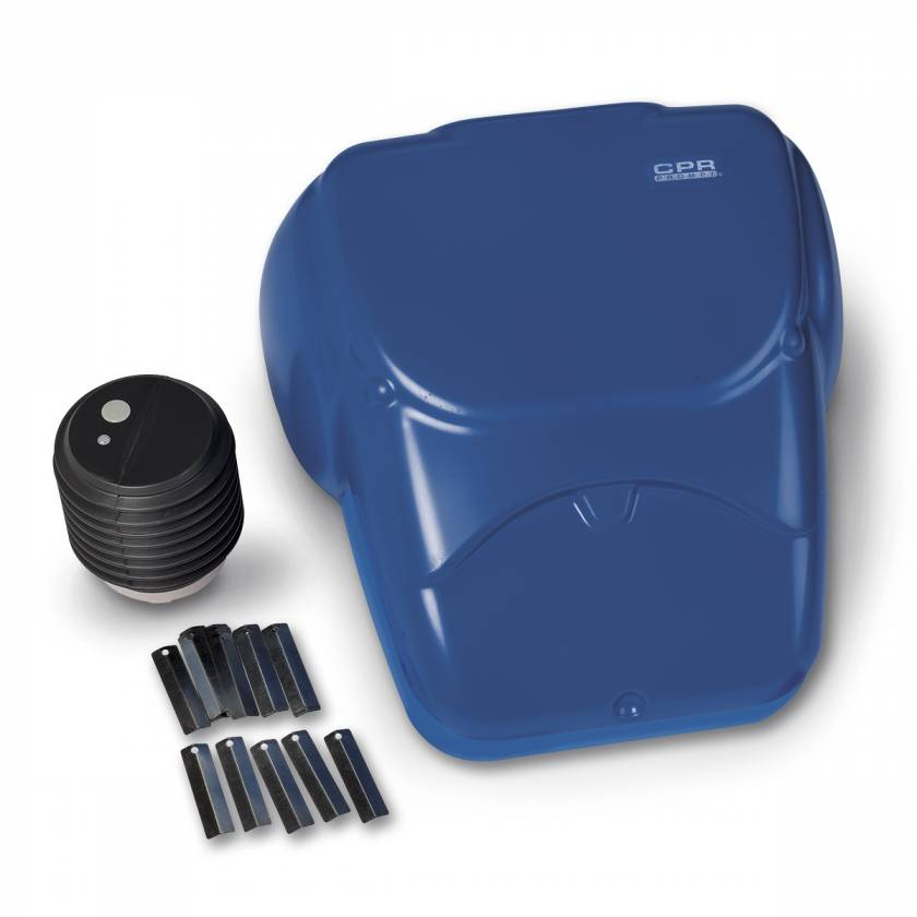 CPR Prompt Compression Chest Manikin - Blue