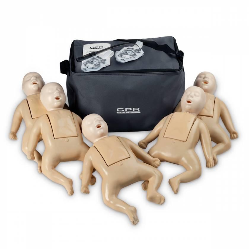 CPR Prompt TPAK 50 Infant Training Pack - 5 Tan Manikins
