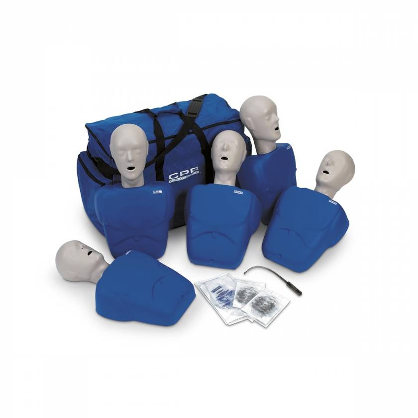 CPR Prompt Training and Practice Manikin - TPAK 100 Adult/Child 5-Pack