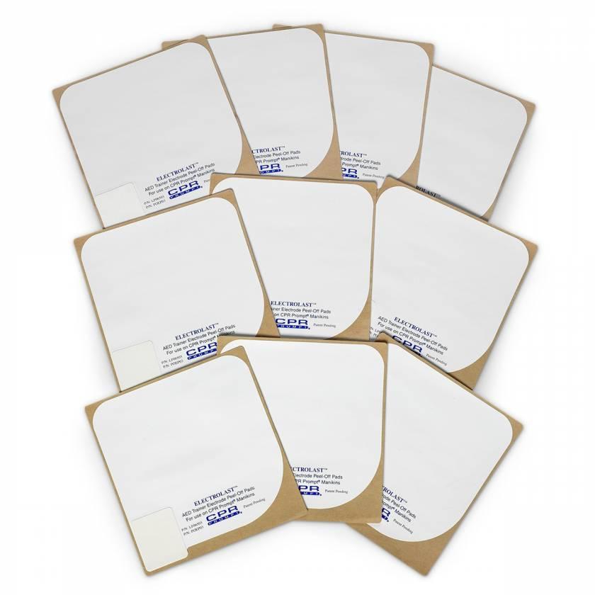 ElectroLast AED Trainer Foam Electrode Peel-Off Pads - Survivalink Style