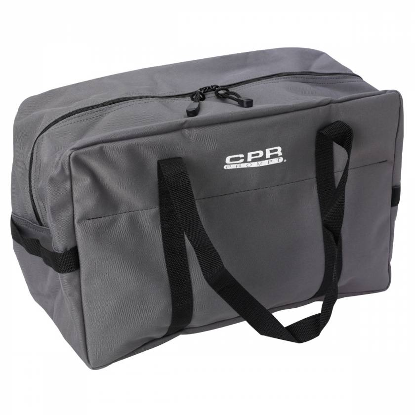 Small Gray Carry Bag