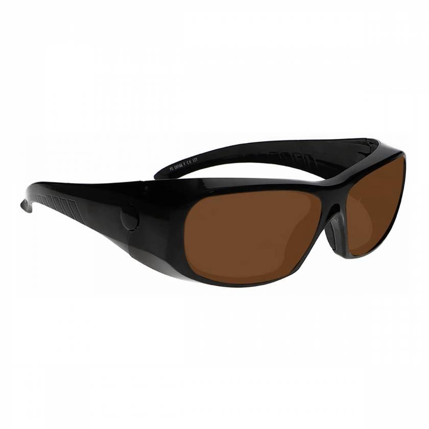 LS-IPLB-1375 IPL Brown Contrast Enhancement Laser Safety Glasses - Model 1375
