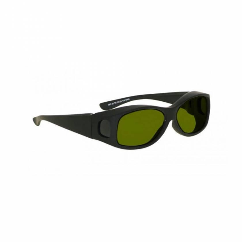 LSS-PSPBGR-33-BK Laser Strike Blue/Green/Red Beam Reduction Glasses - Model 33 - Black Frame
