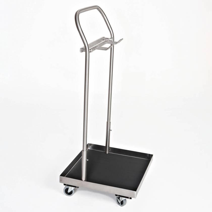 MCM148 Stainless Steel Stirrup Cart