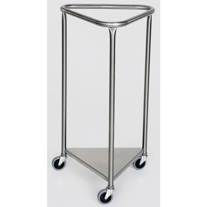 Stainless Steel Triangular Linen Hamper