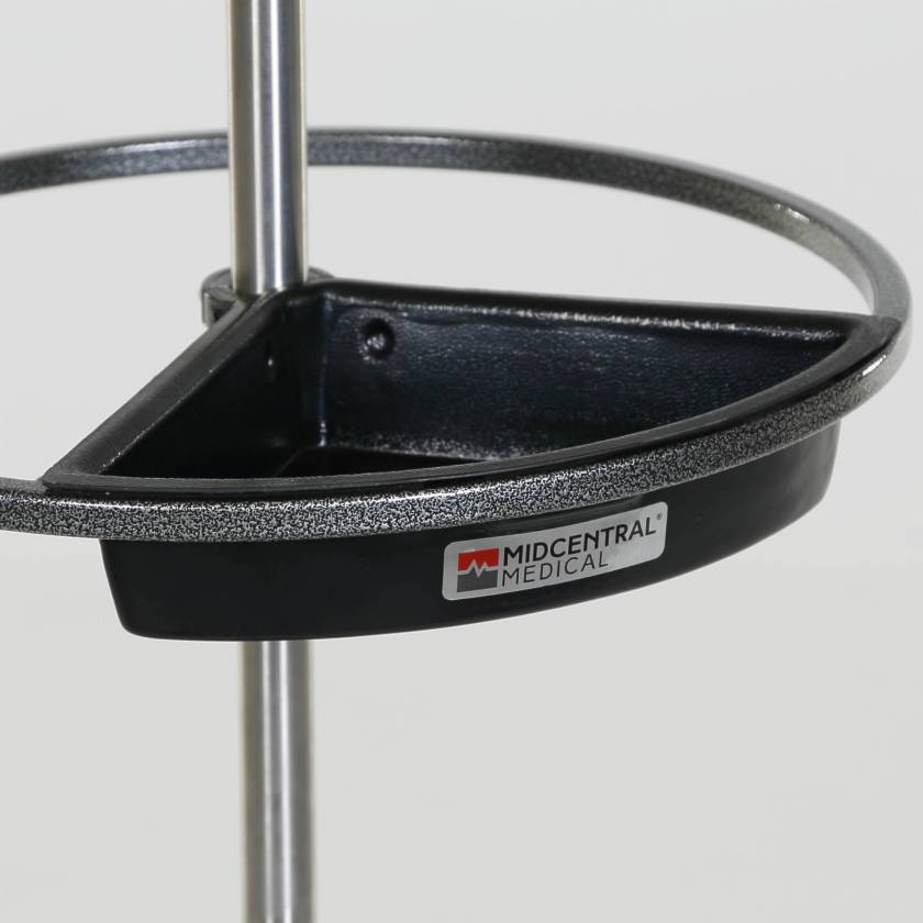 Utility Tray for IV Pole Steering Wheel Model MCM243