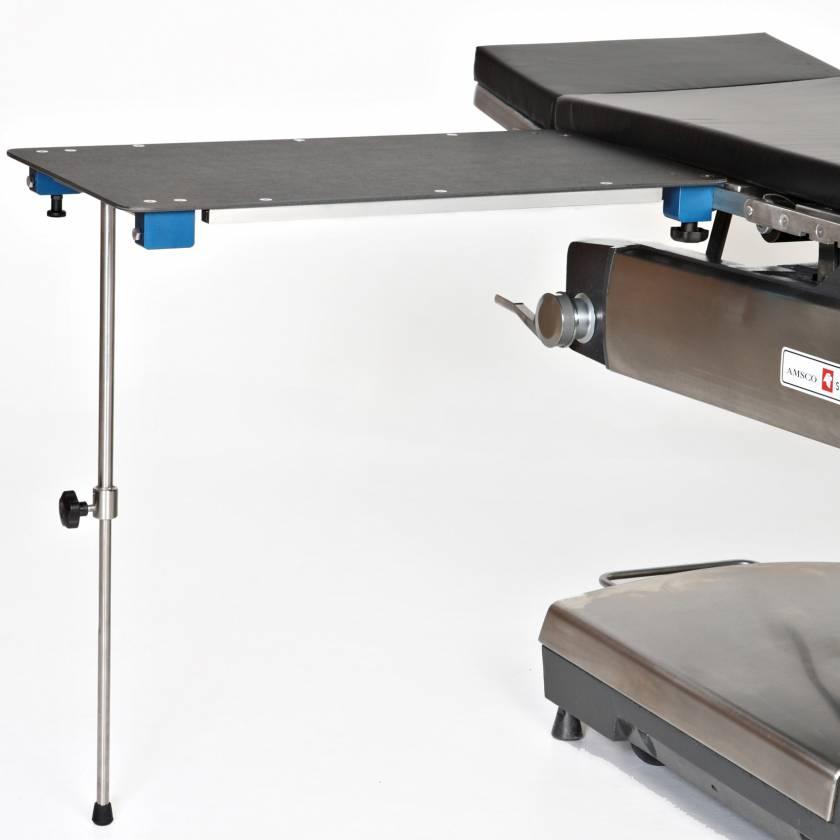 Rectangular Phenolic Arm & Hand Surgery Table with Single Post Leg