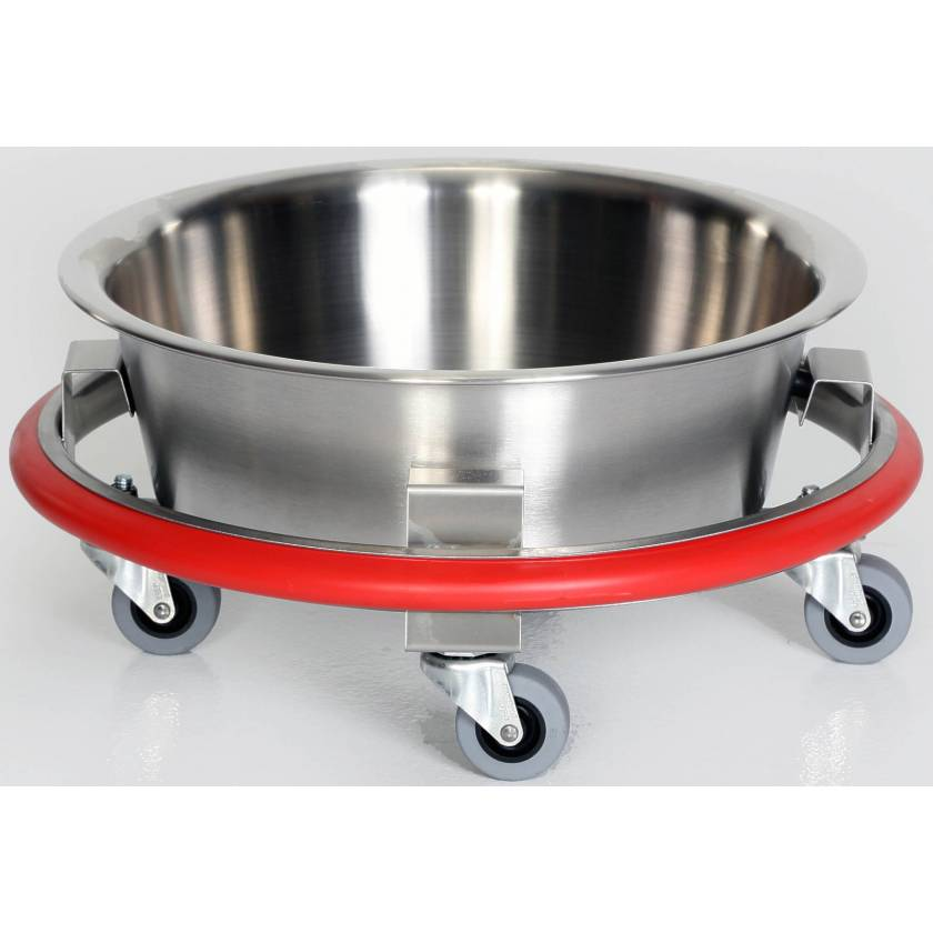 Stainless Steel Sponge Receptacle with 8.5 Quart Basin
