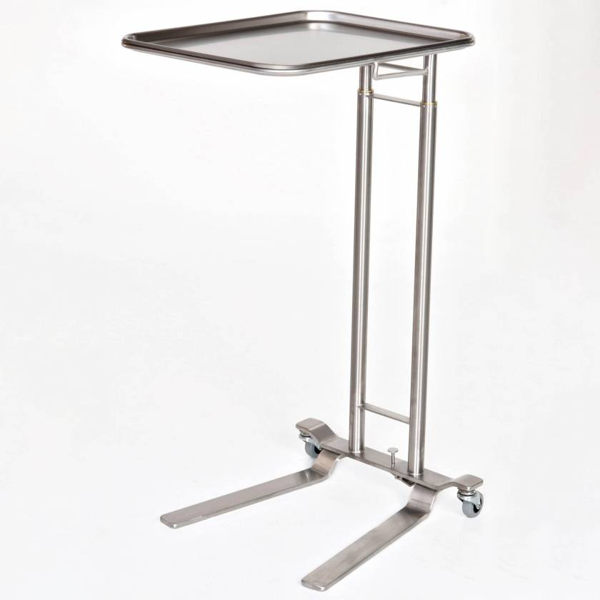 MCM751 Stainless Steel Mayo Stand - Foot Control