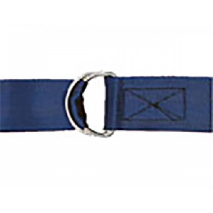1-Piece Strap with Metal Double D Rings Buckle