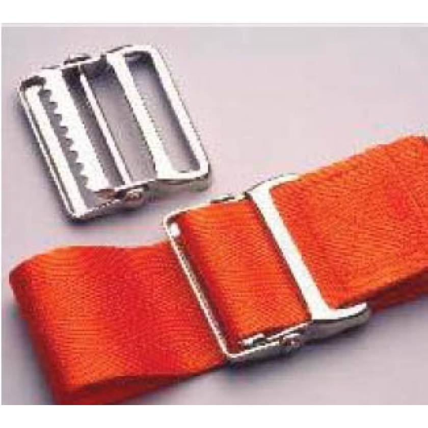 Morrison Medical Metal Drop Jaw Buckle Nylon Strap