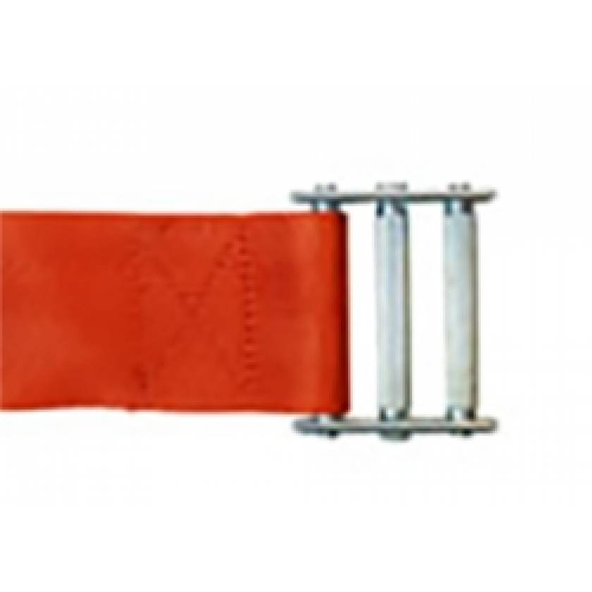 1-Piece Strap with Metal Roller Friciton Buckle