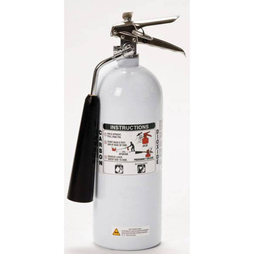 MR Tested Fire Extinguisher - Rechargeable (BC)