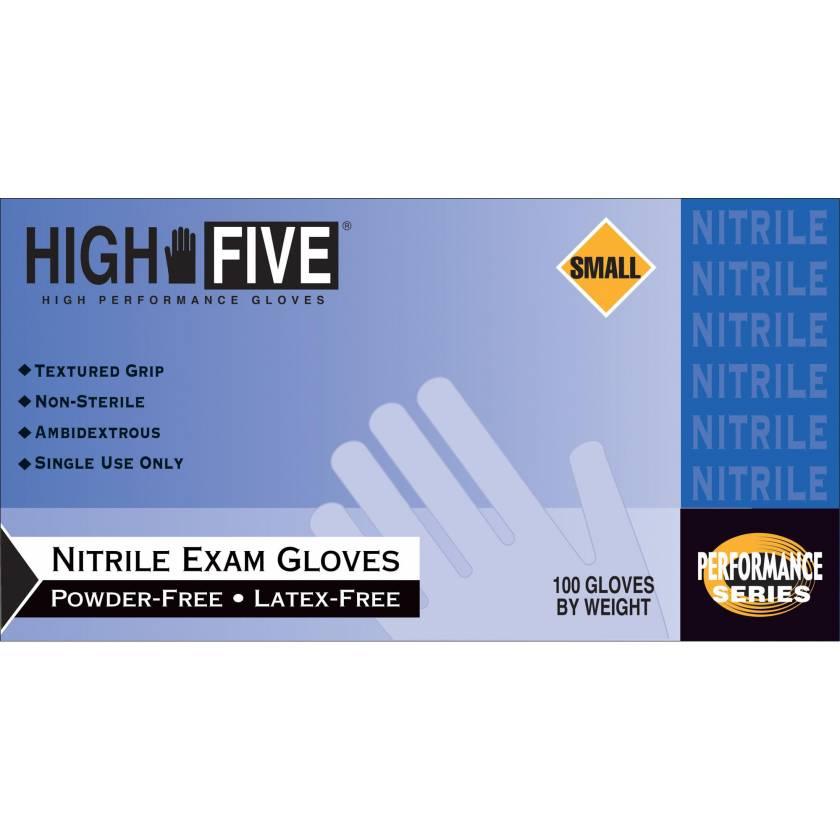 Cobalt Nitrile Exam Gloves
