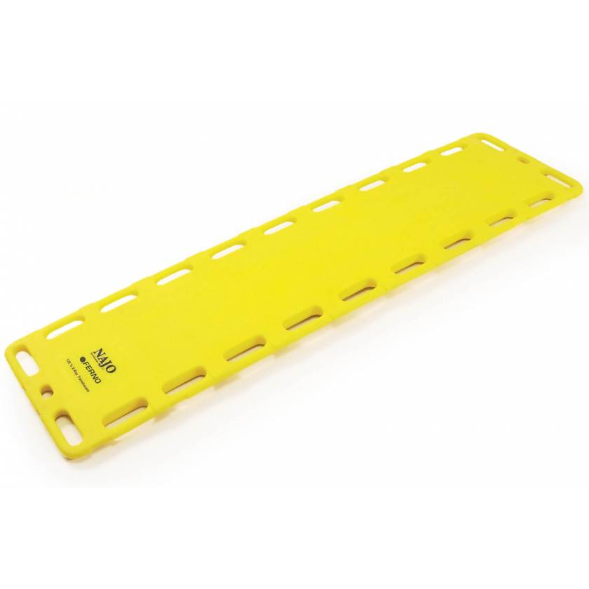 "Ferno NAJO RediWide 18"" Wide HDPE Backboard No Pins"