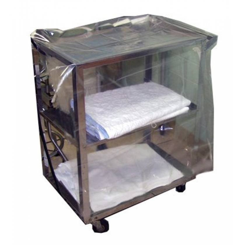 """Non-Sterile Gusseted Case Cart Covers - Size 72"""" x 48"""""""