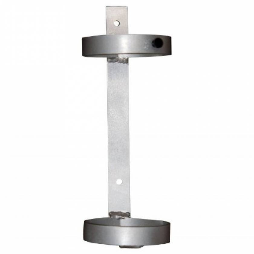 MRI Non-Magnetic Wall Mount Oxygen Holder for E Cylinder