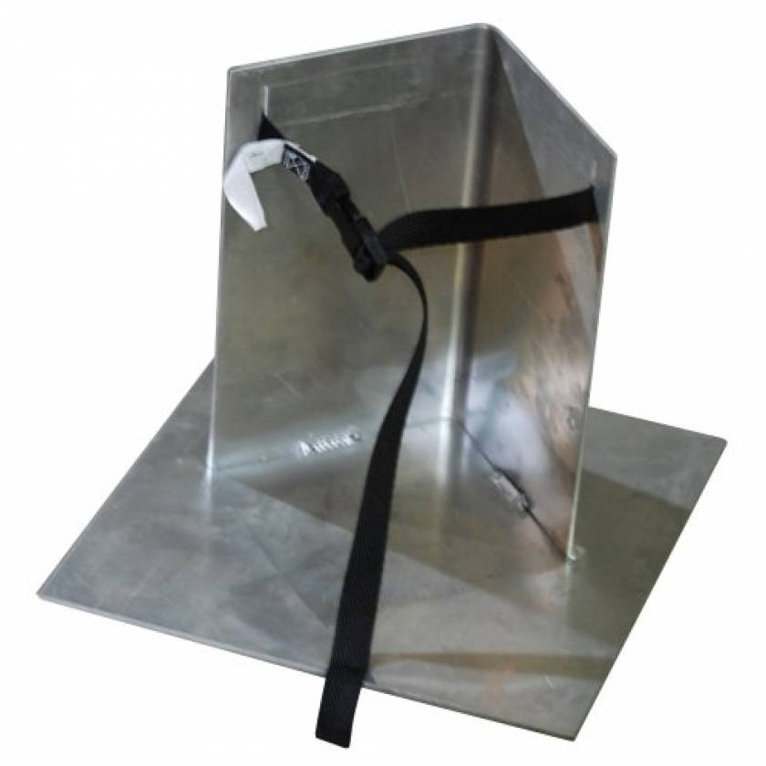 MRI Non-Magnetic Free Standing Oxygen Cylinder Holder