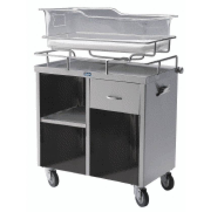 Pedigo Stainless Steel Bassinet Cabinet Without Doors