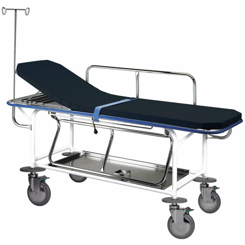 Pedigo Transport Stretcher Non Height Adjustable with 4 Locking Casters