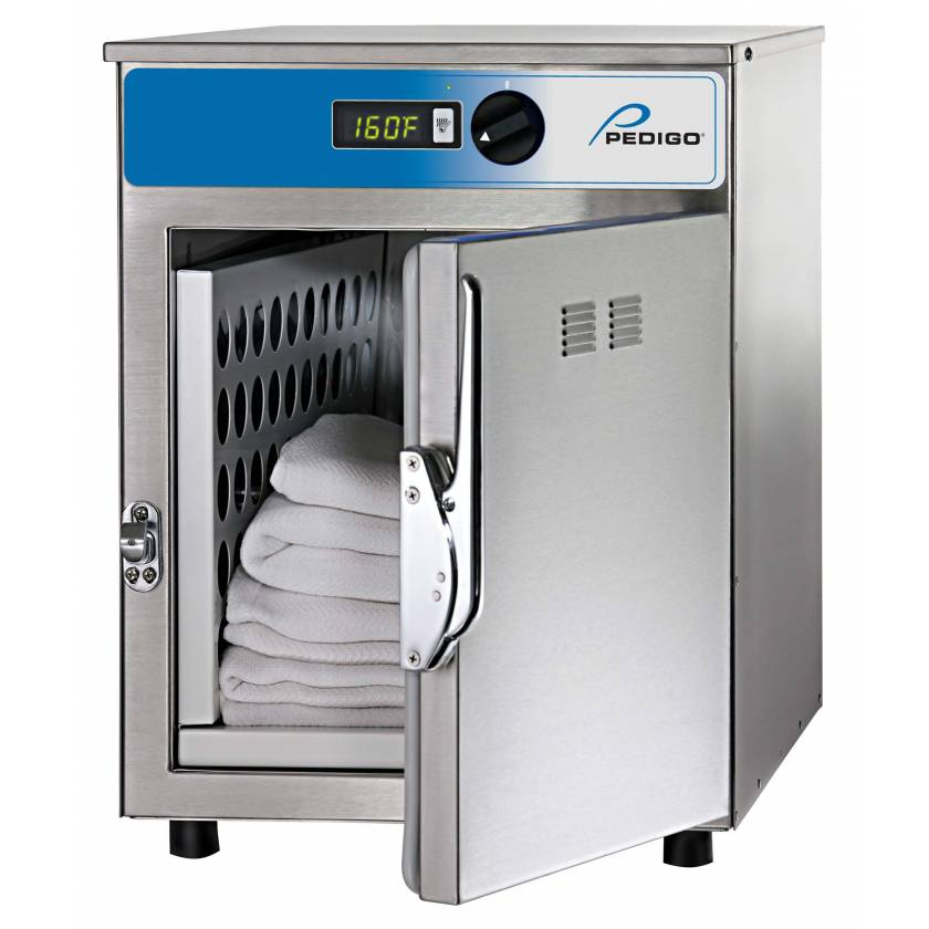 Pedigo Blanket Warming Cabinet - 2.3 Cubic Feet Compartment - Stainless Steel Door