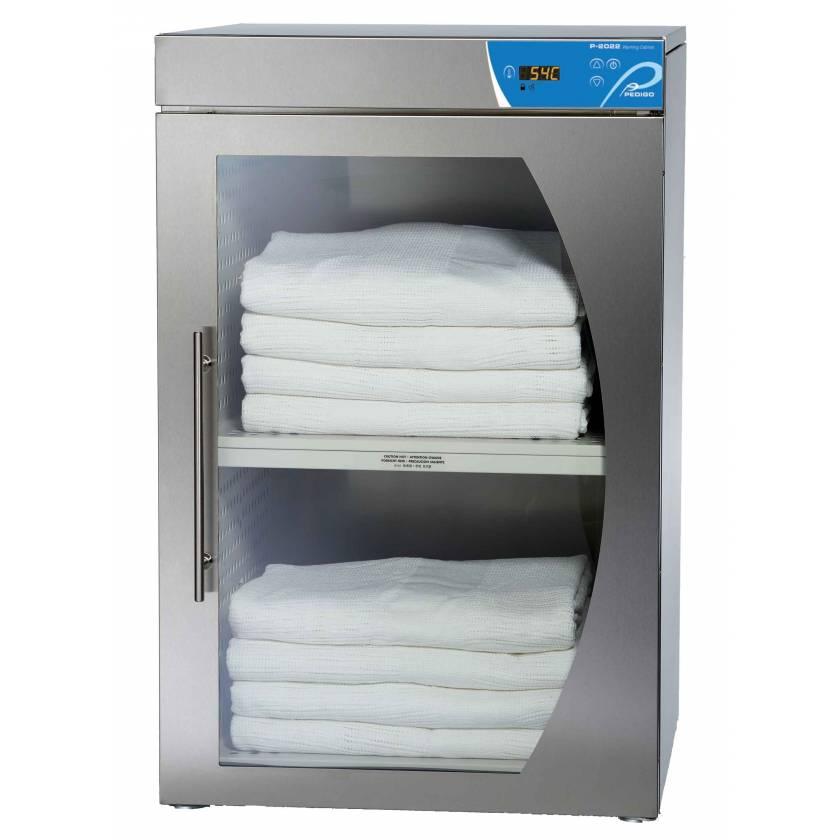 Pedigo Blanket Warming Cabinet - 3.5 Cubic Feet Compartment - Window Glass Door