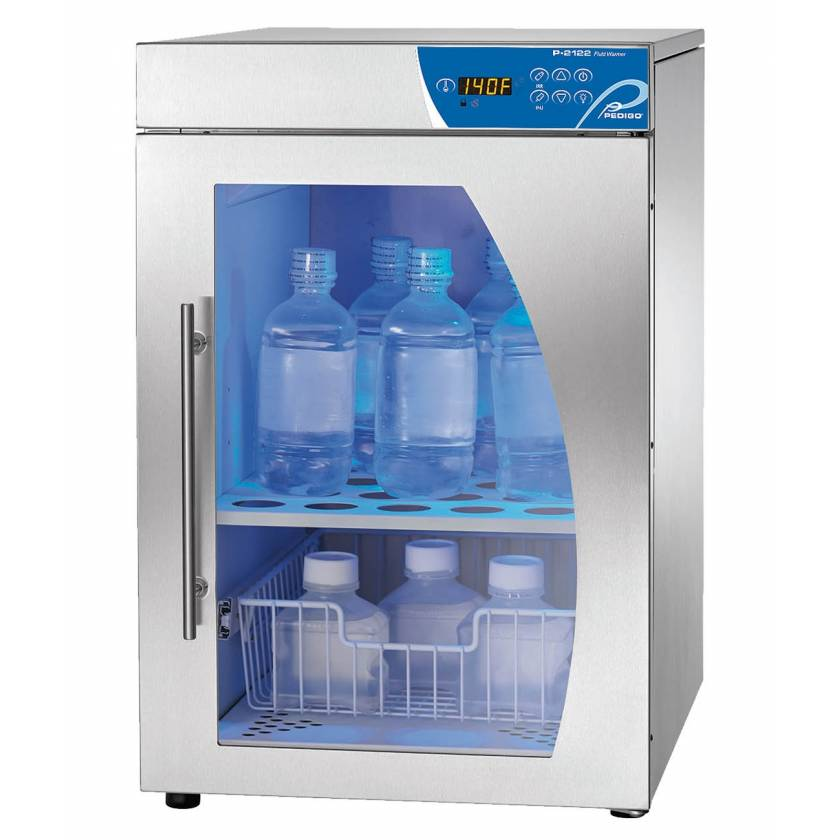 Pedigo Deluxe Fluid Warming Cabinet - 3.5 Cubic Feet - Window Glass Door