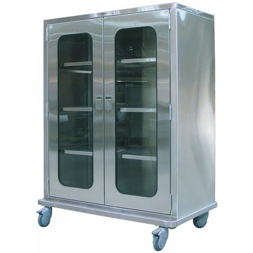 Pedigo Flat Top Operating Room Cabinet With Casters