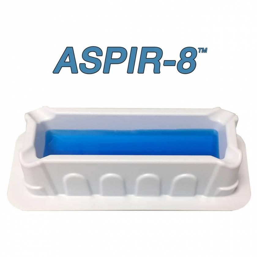 MTC Bio ASPIR-8 10mL Reagent Reservoir for 8-Channel Pipettes - Polystyrene