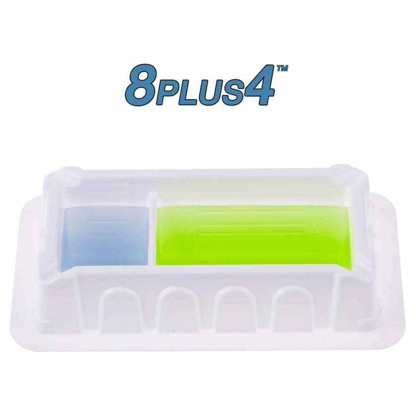 MTC Bio 8PLUS4 50mL Divided Reagent Reservoir - Polystyrene