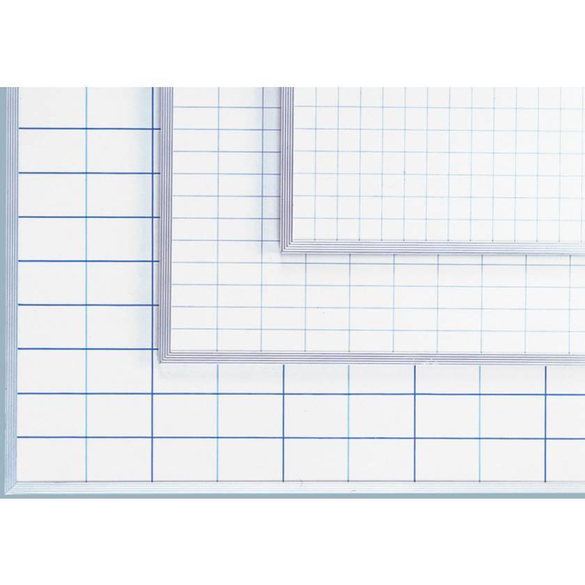 Magnetic Gridded Porcelain On Steel Boards