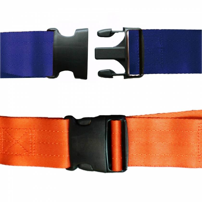 Morrison Medical 1-Piece Nylon Strap with Plastic Side Release Buckle