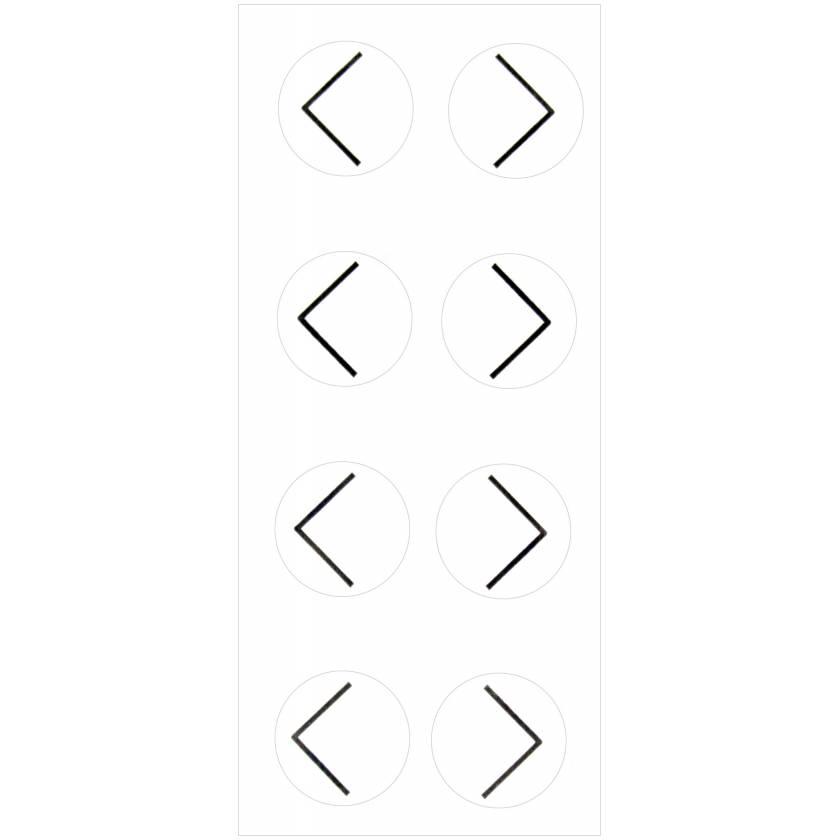 Suremark PortalMark Corner Sheet Labels