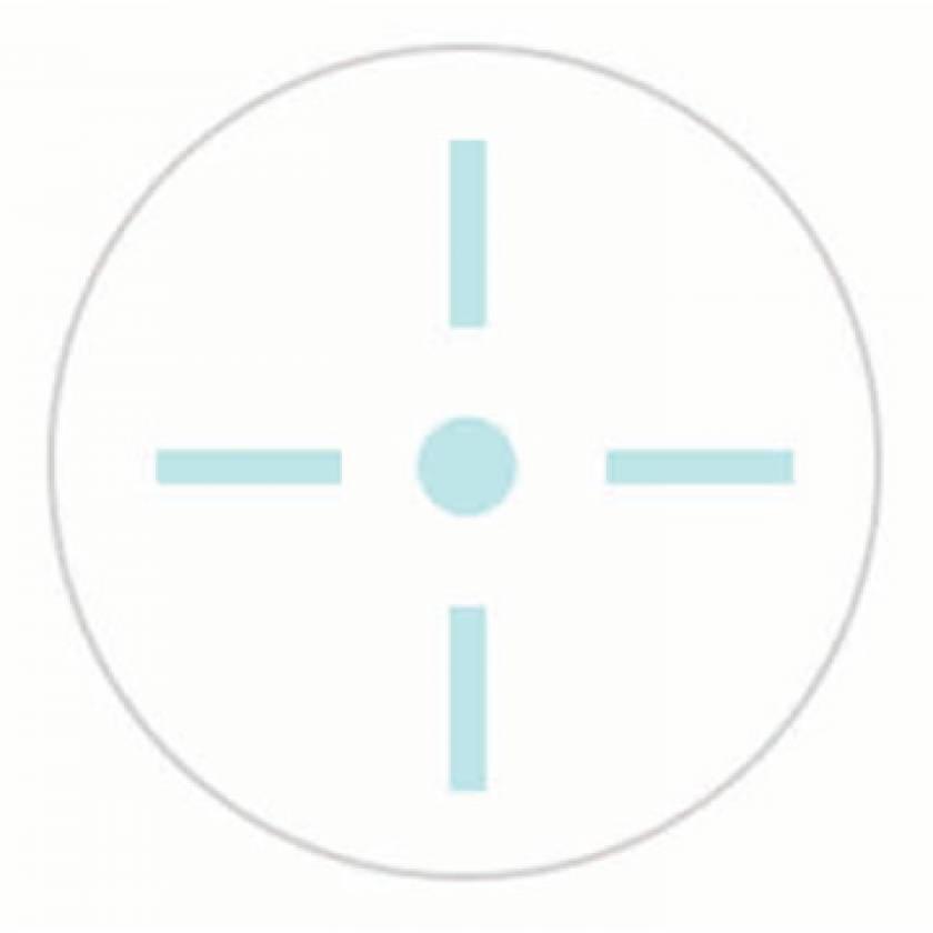 PortalMark Radiation Treatment Set Up Point Labels for Dark Skin Surface - Alternate Adhesive
