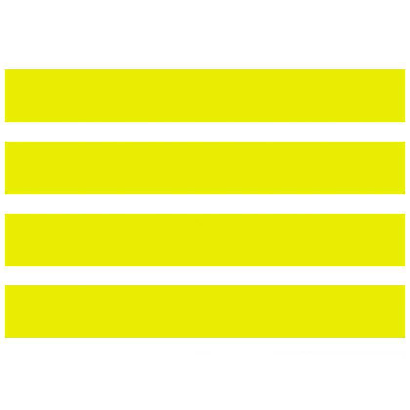 "Pre-Cut Magna Ribbon Strips - 5/8""H x 6""L"