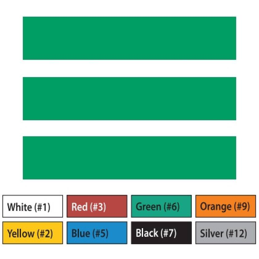 "Pre-Cut Magna Ribbon Strips - 3/4""H x 5""L"