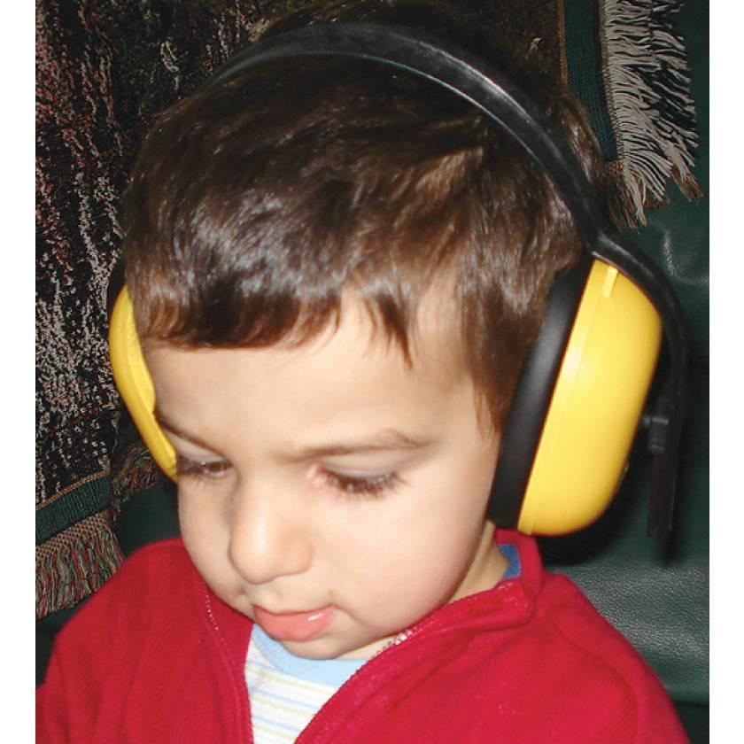 MRI-Safe Pediatric Noise Guard Headset