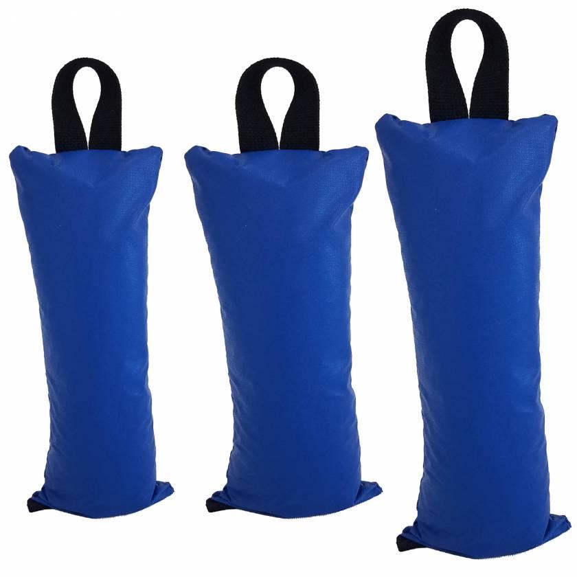 "Pediatric Sandbag: 3 lbs - Size 5"" x 9"", 5 lbs - Size 7"" x 9"", and 7 lbs - Size 6"" x 14"""
