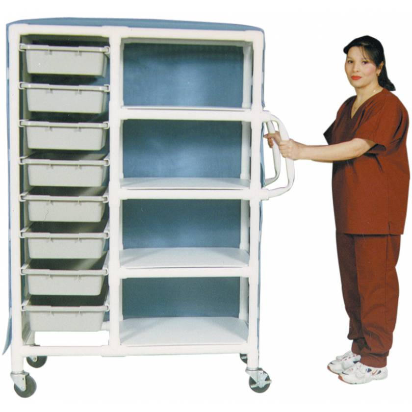 MR-Conditional PVC 8-Drawer Storage Cart