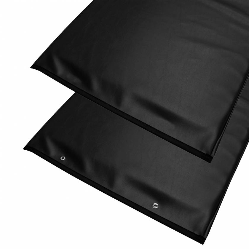 """Standard Radiolucent X-Ray Table Pad - Black Vinyl 72"""" L x 23.25"""" W"""