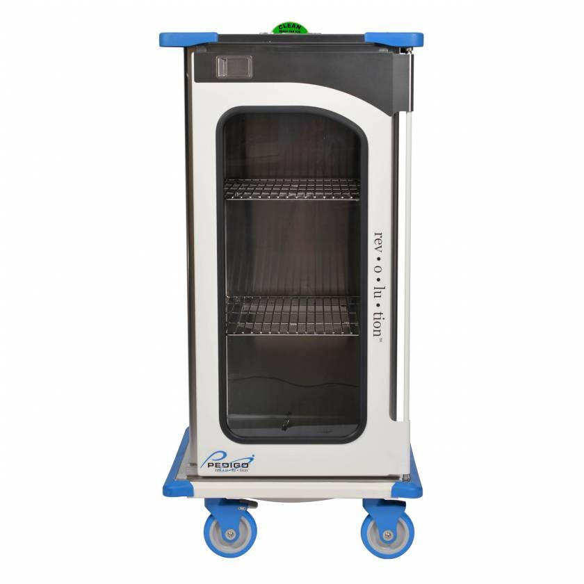 "Pedigo RCC-233-B Revolution Closed Surgical Case Cart with Single Door - 29""W x 27.5""D x 59""H"